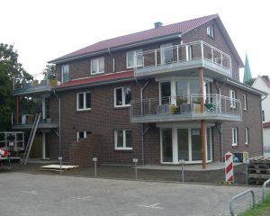 Balkone ohne Verkleidung