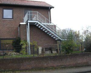Treppenbau – Aussentreppe aus Stahl